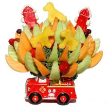 Fire Truck Bouquet